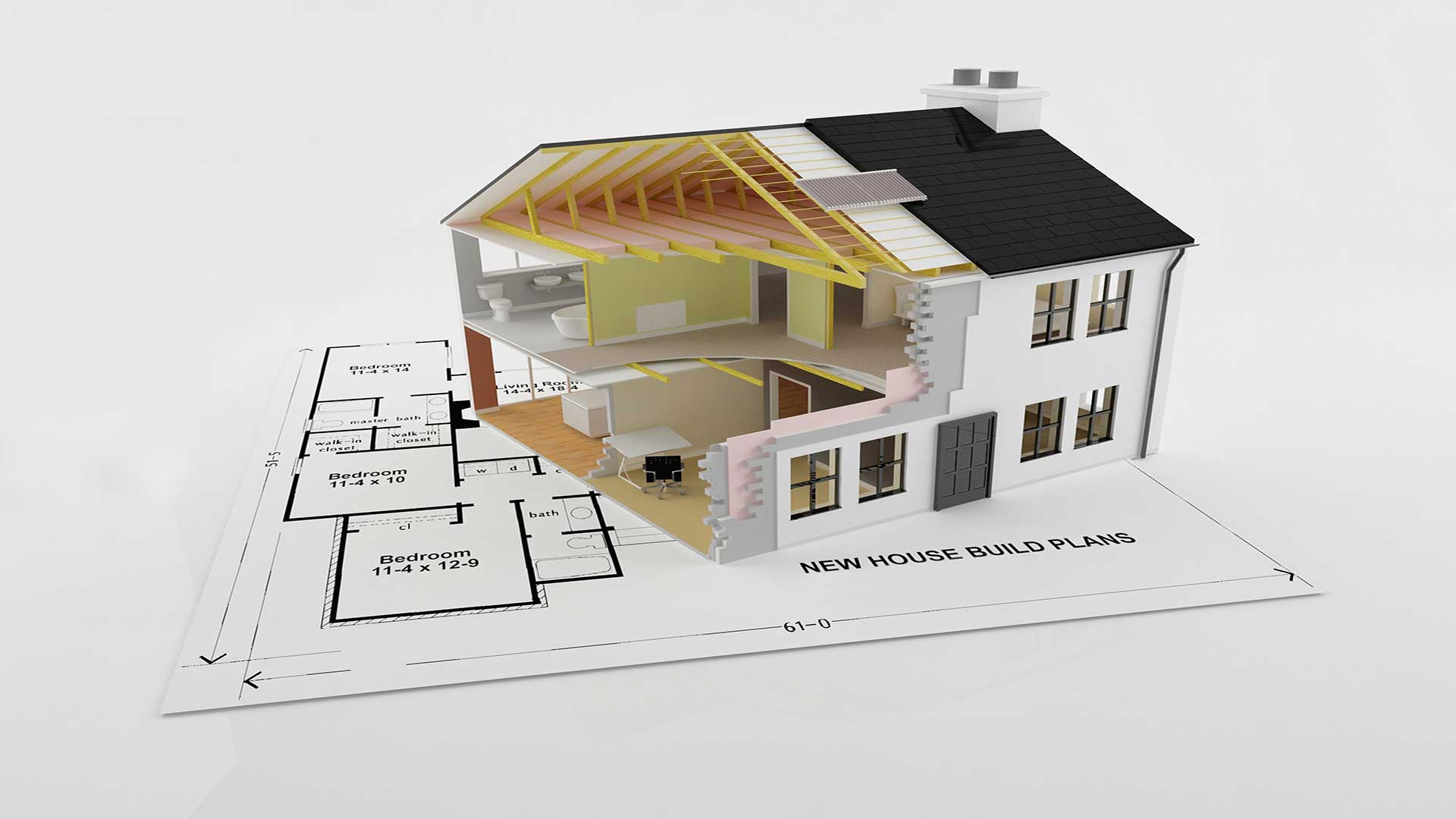 The building process explained vinland homes for Process of building a house